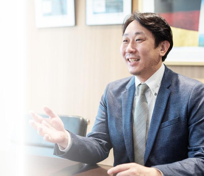 代表取締役社長 澤畑勝章